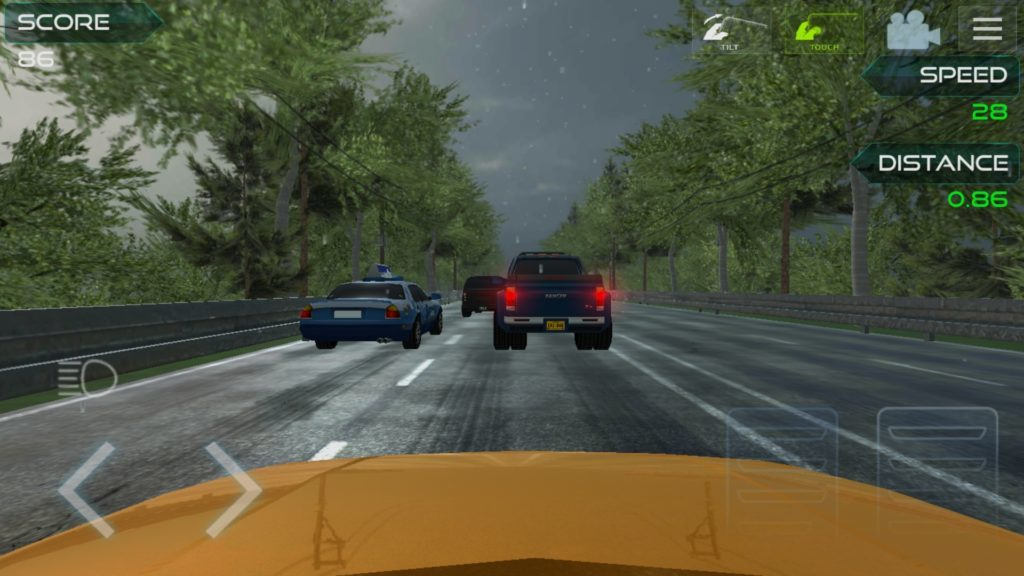 Highway asphalt racing :traffic nitro racing
