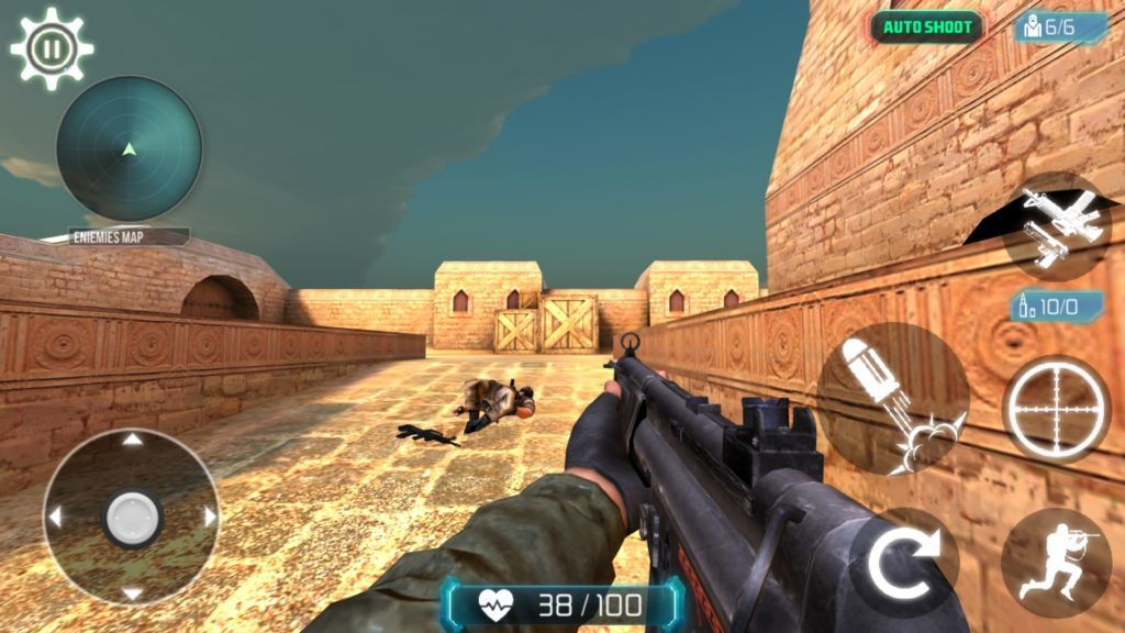 Counter terrorist 2 gun strike