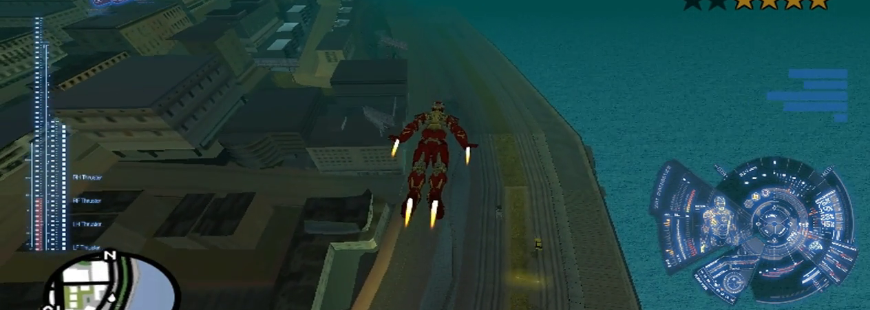 iron Man mod pack for gta san andreas
