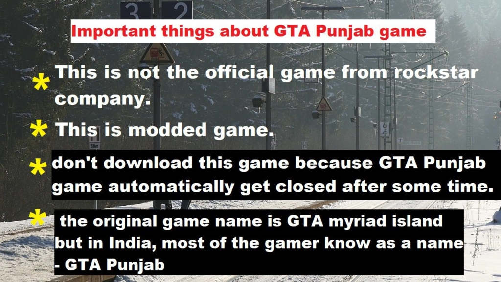 gta punjab game