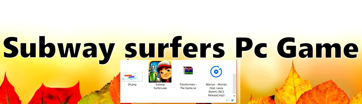 subway surfers game free download for pc with keyboard working