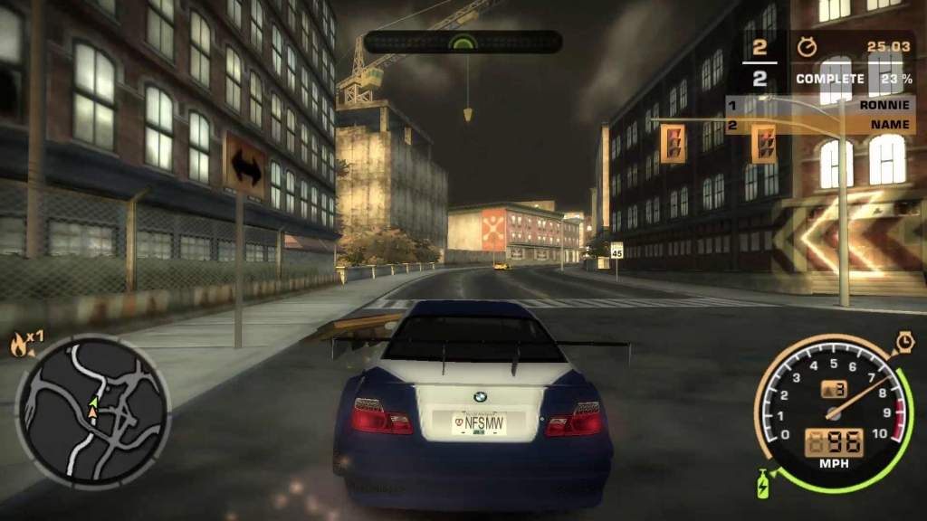 Need for speed Need for speed most wanted 2005 highly compressed