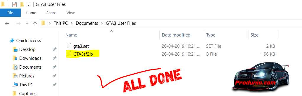 GTA 3 100% savegame PC - download all mission complete savefile to skip missions.