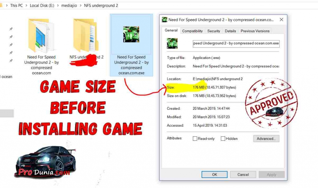 need for speed underground 2 highly compressed setup