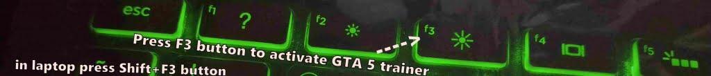 gta 5 trainer controls