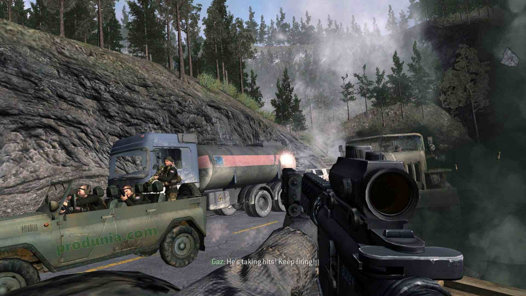 call of duty 4 modern warfare download highly compressed for pc - 2.04GB