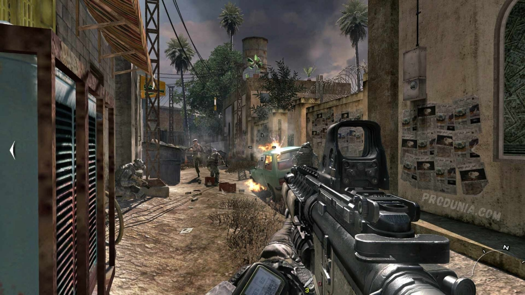 download call of duty modern warfare 2 highly compressed