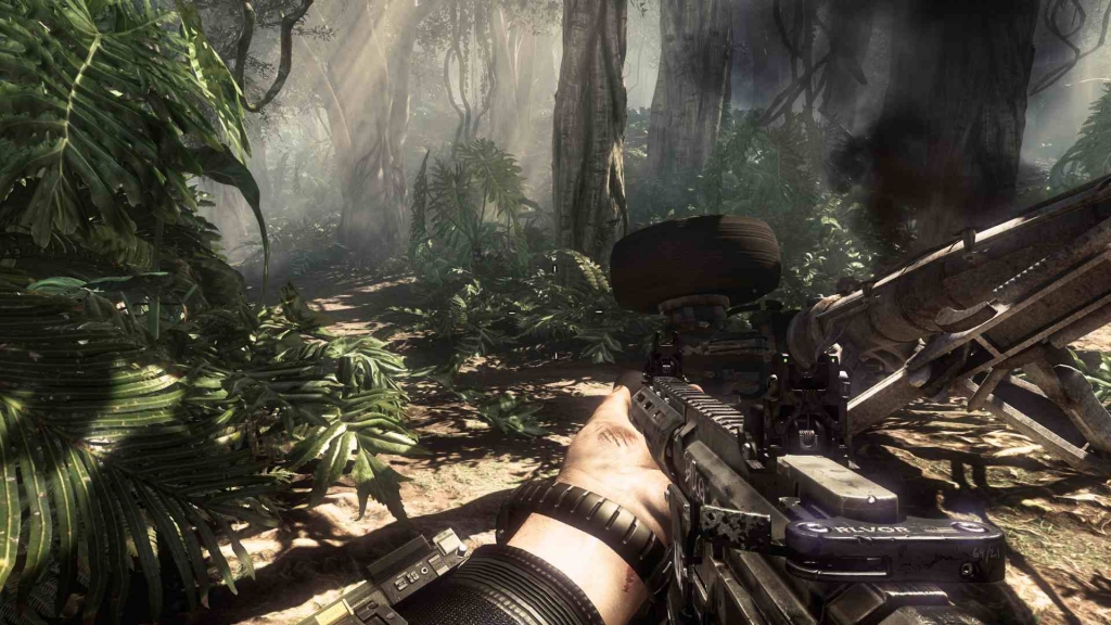 Download highly compressed Call of duty Ghosts for pc in 23.3 GB from here – 1 GB part wise