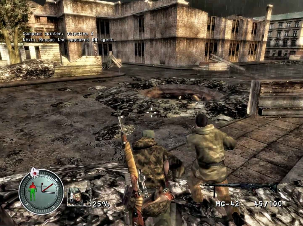 Sniper Elite 1 PC Game highly compressed version Now in 683 MB