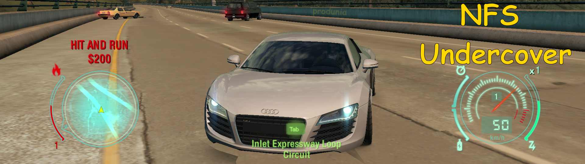 Need for Speed Undercover Highly compressed download for PC in Parts