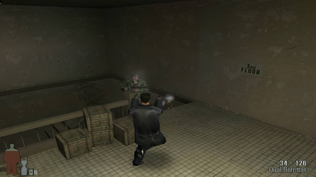 Download highly compressed setup of  Max Payne 1 game for desktop or laptop in highly compressed from here