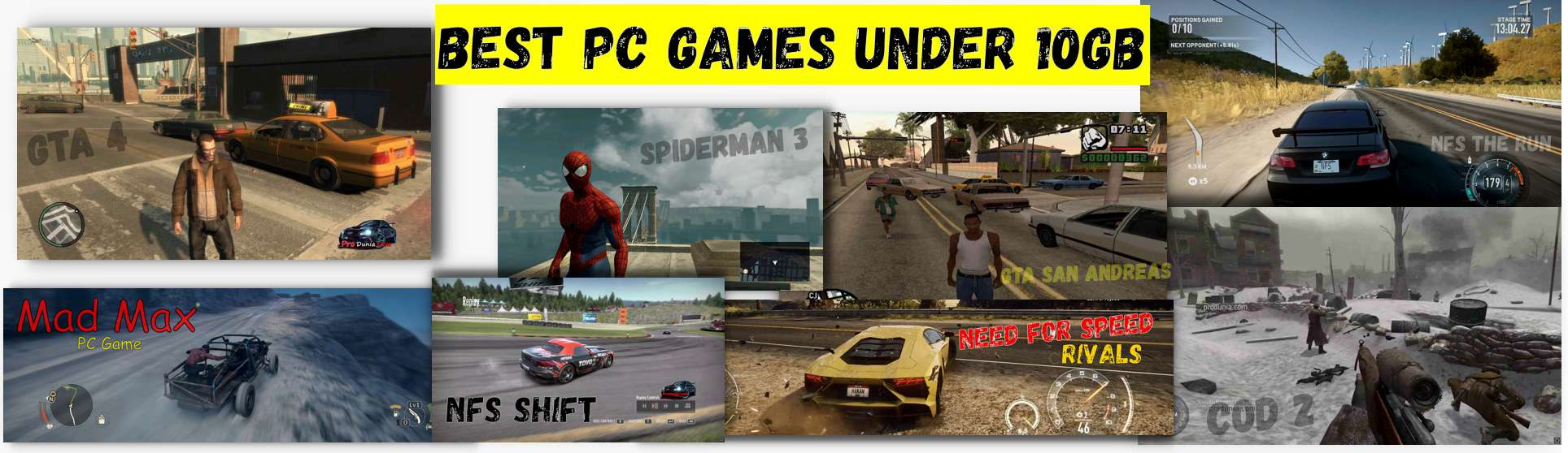 Best pc games under 10GB – Full collection with the download link