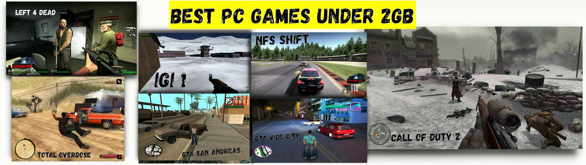 Best pc games under 2gb - Full collection with the download link