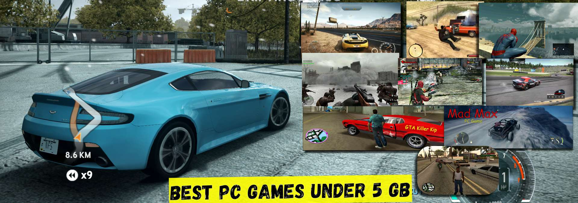 Best pc games under 5GB – Full collection with the download link