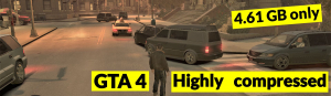 Download GTA 4 for desktop or laptop in highly compressed size