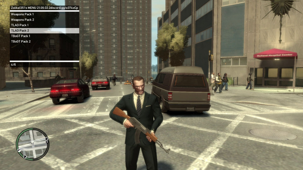 GTA 4 trainer - Screenshot -1