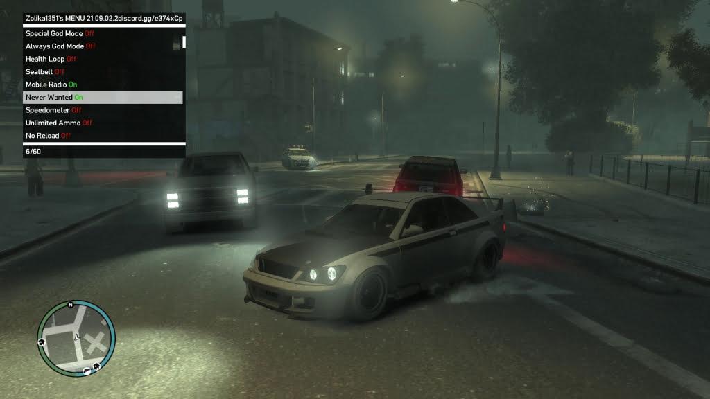 GTA 4 trainer - Screenshot -2