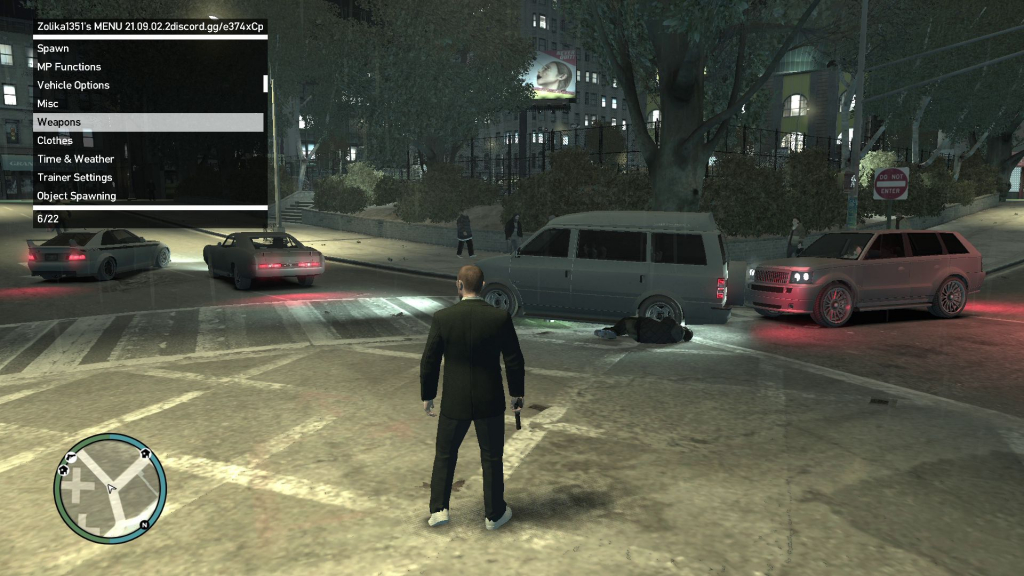 GTA 4 trainer - Screenshot -5