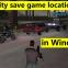 GTA vice city savegame location in Windows (PC)